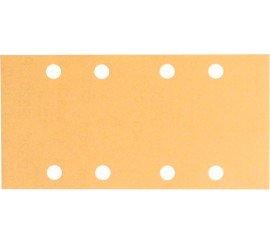 10 Feuilles abrasives C430, 93 x 185 mm 8 trous BOSCH