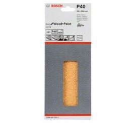 10 Feuilles Abrasive velcro Bosch 93x230 mm