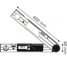 Mesureurs d'angle BOSCH DWM 40 L Set