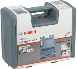 Coffret de 4 scies trépans diamantées à sec BOSCH DRY SPEED