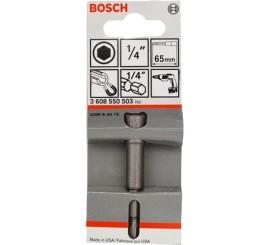 """Douille pour vis 6 pans BOSCH 1/4"""" long 65mm"""