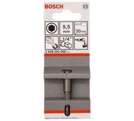 Douille pour vis 6 pans BOSCH 5/16 long 50mm