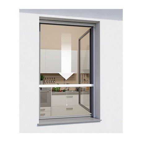 Moustiquaire à rouleau Windhager, blanc, 160x160 cm