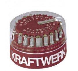 """Boîte de 19 embouts 1/4"""" MAGNUM Kraftwerk"""