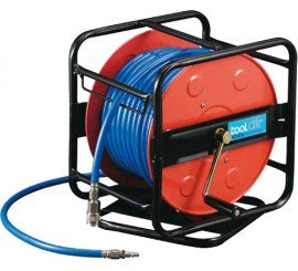 Enrouleur de tuyau à air comprimé 30 m - 10 bars